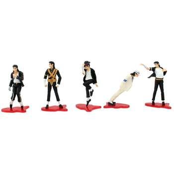 فیگور طرح مایکل جکسون مدل  World Tour Limited Edition مجموعه 5 عددی |