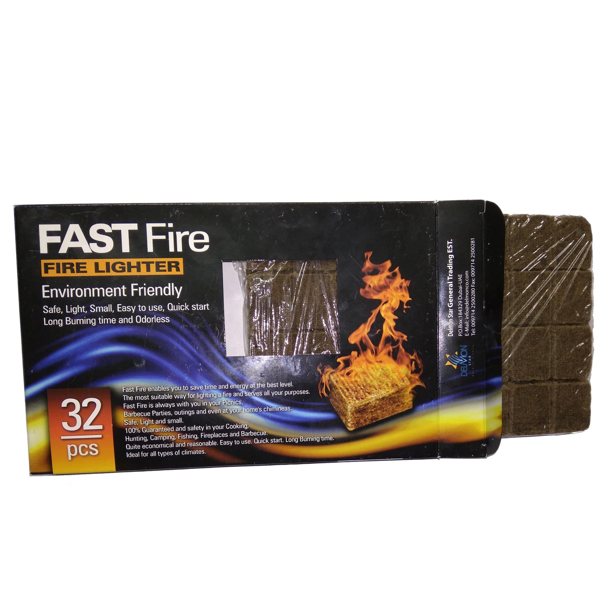 خرید آتشزنه فست فایر مدل p2 بسته 32 عددی