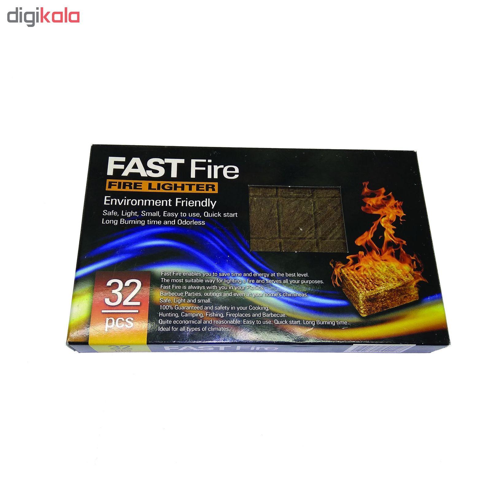 آتشزنه فست فایر مدل p2 بسته 32 عددی main 1 3