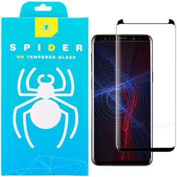 محافظ صفحه نمایش 3D اسپایدر مدل SH23 مناسب برای گوشی موبایل سامسونگ Galaxy S9 پلاس