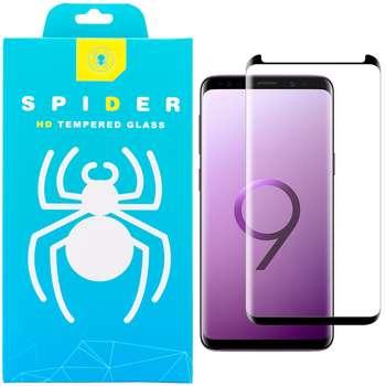 محافظ صفحه نمایش 3D اسپایدر مدل SH23 مناسب برای گوشی موبایل سامسونگ Galaxy S9