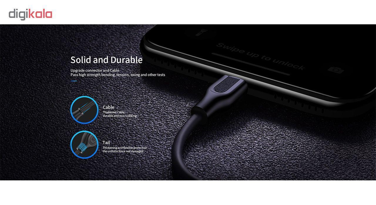 کابل تبدیل USB به microUSB جی روم مدل S-L352 طول 1 متر main 1 7