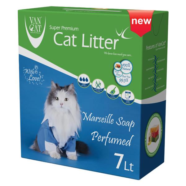 خاک گربه ون کت مدل Marseille Soap حجم 7 لیتر