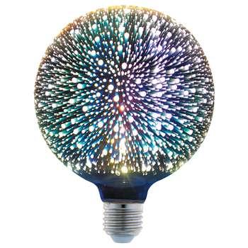 لامپ ال ای دی تزئینی 6 وات پارس شهاب مدل 3D پایه E27