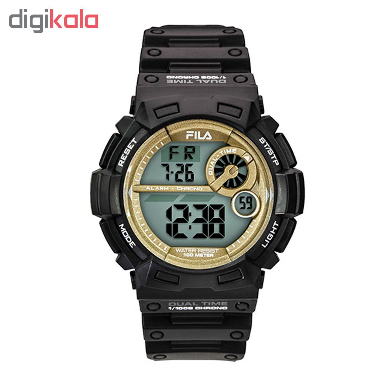 خرید ساعت مچی عقربه ای مردانه ی فیلا مدل 38-110-007