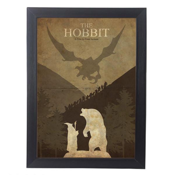 تابلو آگاپه مدل G150 طرح The Hobbit