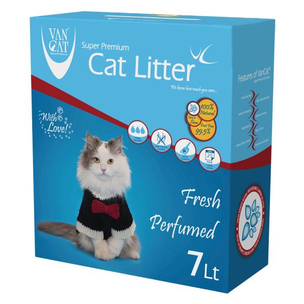 خاک گربه ون کت مدل Fresh Prefumed حجم 7 لیتر