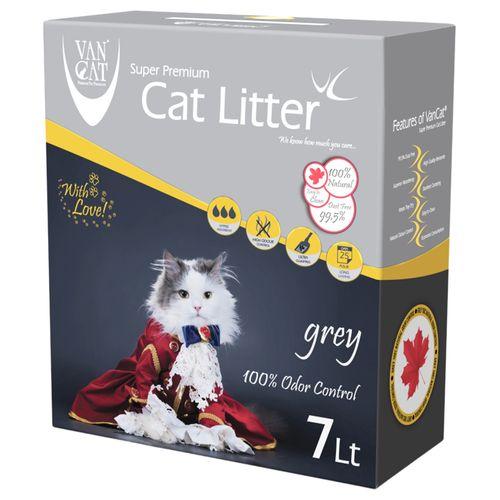 خاک گربه ون کت مدل Grey حجم 7 لیتر