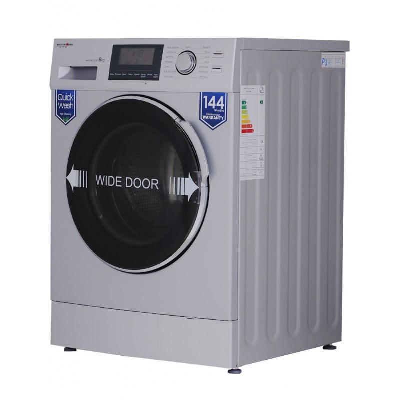 ماشین لباسشویی پاکشوما مدل WFU 90122 ظرفیت 9 کیلوگرم