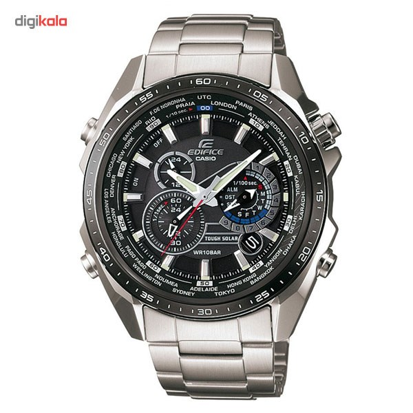 خرید ساعت مچی عقربه ای مردانه کاسیو ادیفایس EQS-500DB-1A1DR