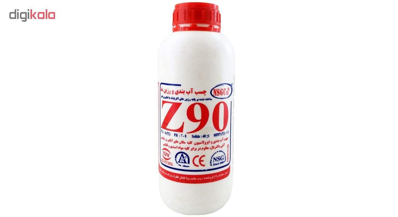 چسب آب بندی و رزین نما NSG (چسب آب بندی) مدل Z90 حجم 1000 میلی لیتر main 1 1