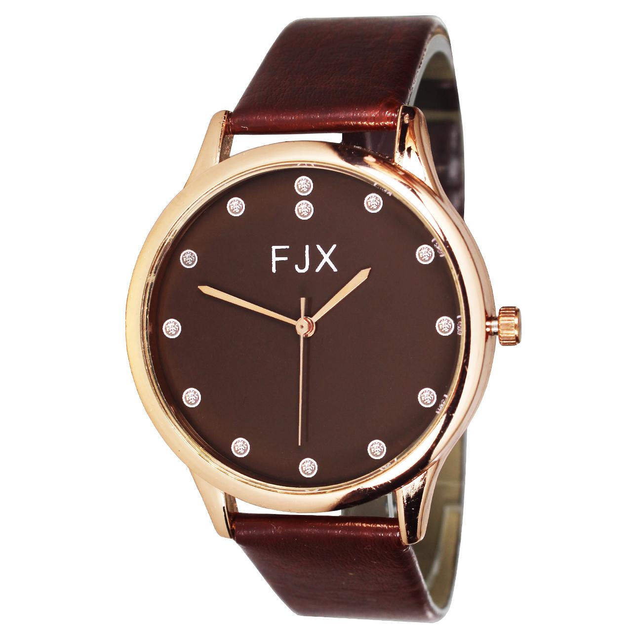 ساعت مچی عقربه ای مردانه و زنانه اف جی ایکس مدل P5-3