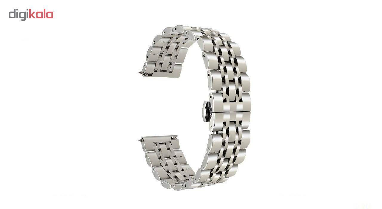 بند ساعت هوشمند مدل Longines مناسب برای ساعت هوشمند Gear S3 main 1 4