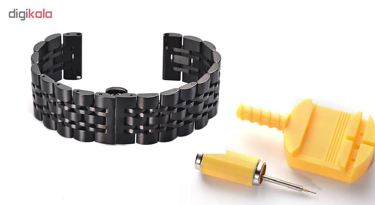 بند ساعت هوشمند مدل Longines مناسب برای ساعت هوشمند Gear S3 main 1 3