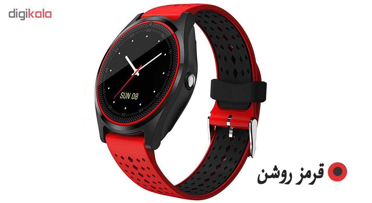 ساعت مچی هوشمند مدل V9 همراه محافظ صفحه نمایش شیدتگ main 1 3