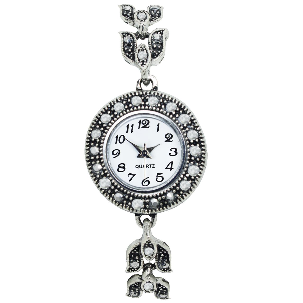 خرید ساعت مچی عقربه ای زنانه طرح سنتی 03