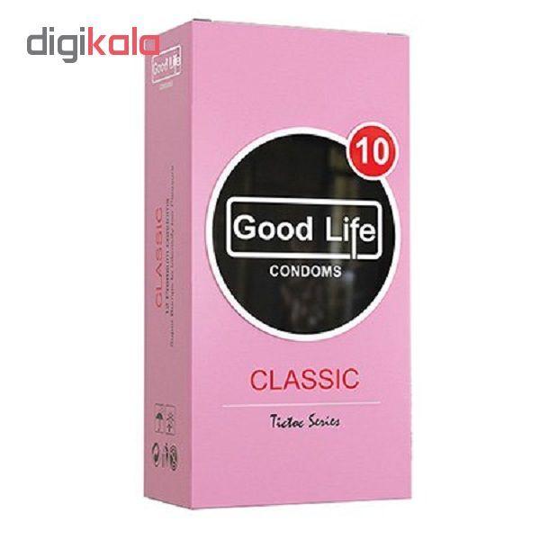 کاندوم گودلایف مدل Classic بسته 12 عددی main 1 1