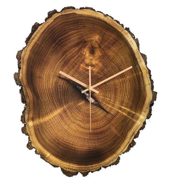 ساعت دیواری چوبی کد Botrunk 111
