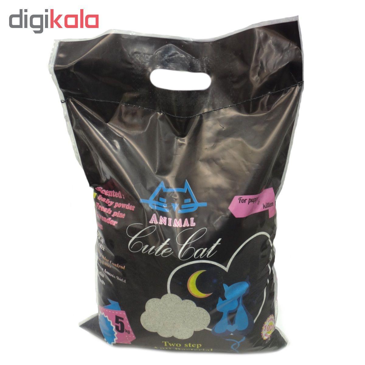خاک گربه کیوت کت مدل Two Step وزن 5 کیلوگرم main 1 1