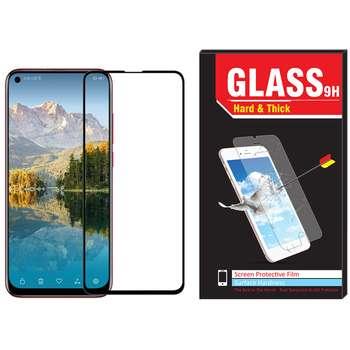 محافظ صفحه نمایش شیشه ای Hard and thick مدل فول چسب مناسب برای گوشی موبایل هوآوی Nova 4