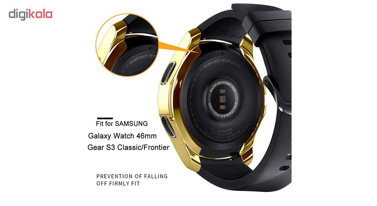 کاور مدل T-G463 مناسب برای ساعت هوشمند سامسونگ Gear S3 Frontier / Galaxy Watch 46mm main 1 11