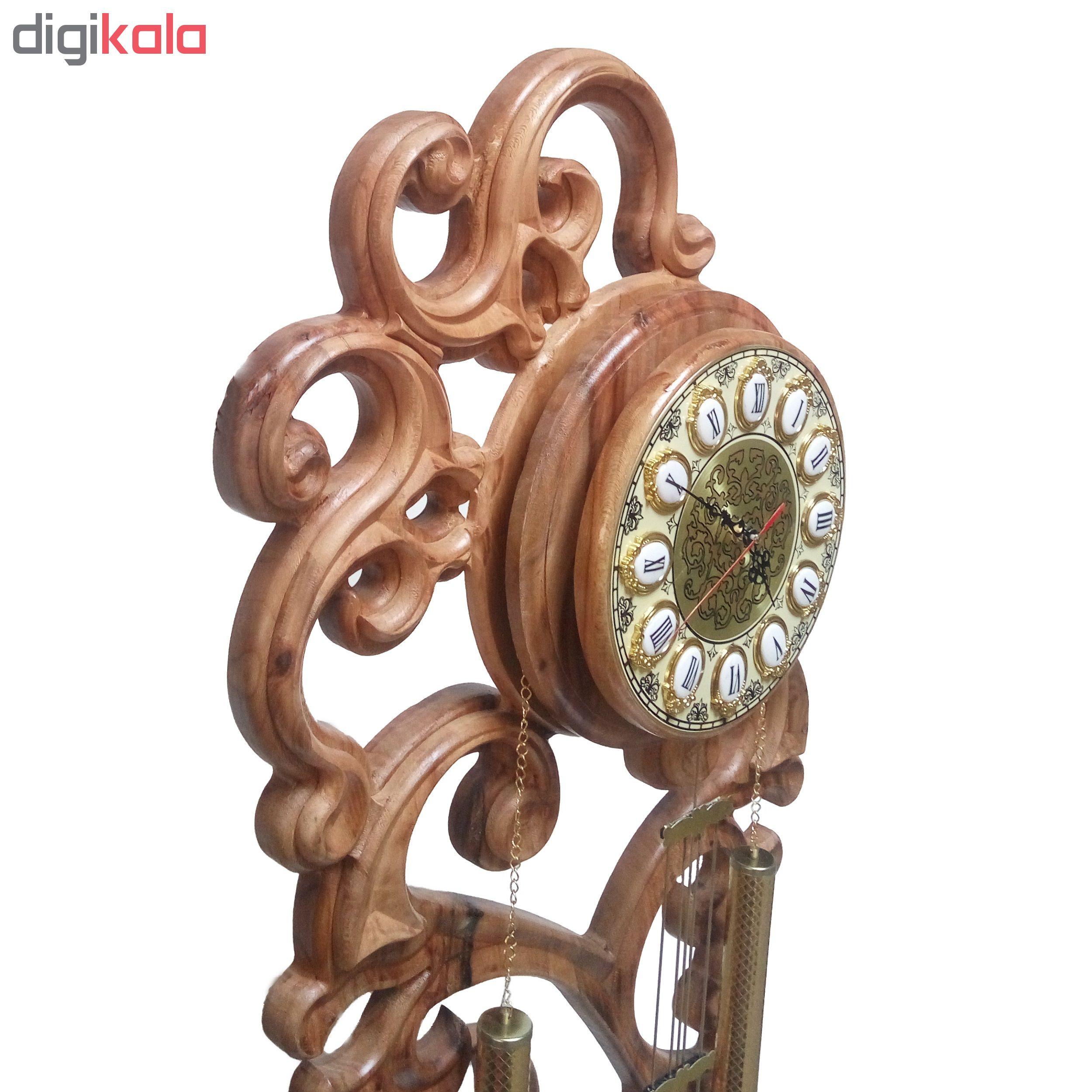 ساعت ایستاده چوبی چوبیس کد 1_500