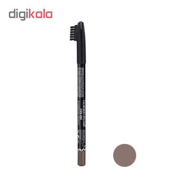 مداد ابرو گلدن رز مدل Dream شماره 307