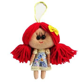 عروسک طرح دختر بهار کد MRK11 ارتفاع 18 سانتی متر