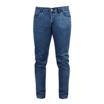 شلوار جین مردانه مدل M0015 رنگ آبی
