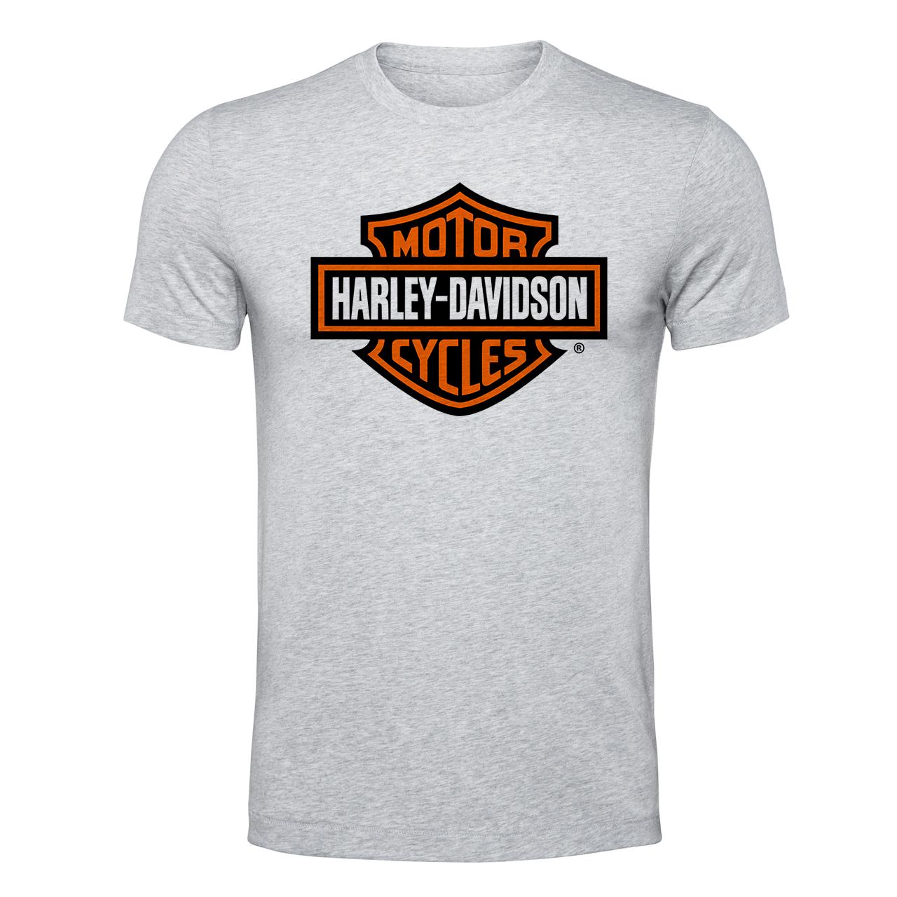 تیشرت مردانه طرح هارلی دیویدسون کد EML365
