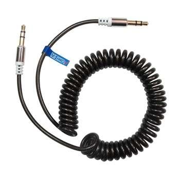 کابل صدا فنری AUX مکا مدل MAC23 طول 1.5 متر