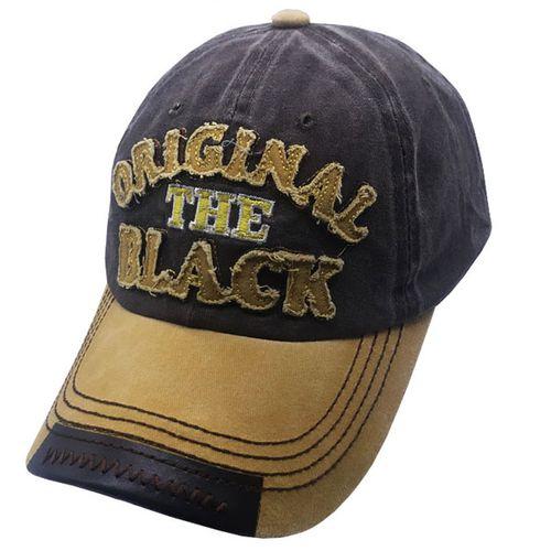 کلاه کپ مردانه اورجینال بلک مدل hy7