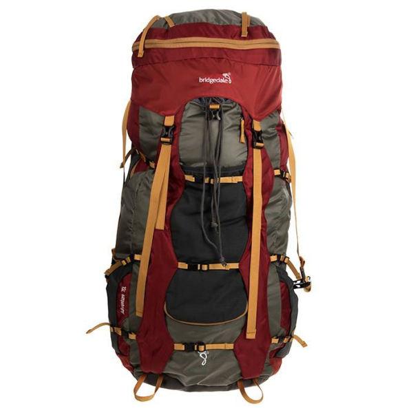 کوله پشتی کوهنوردی 60 لیتری بریدج دل مدل Adventure
