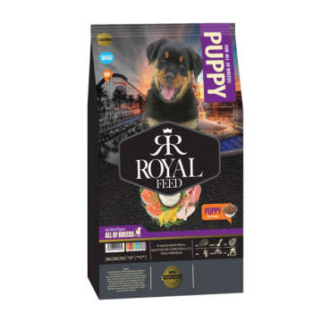 غذای خشک سگ رویال فید مدل PUPPY وزن 3 کیلوگرم