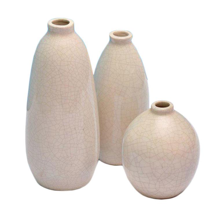 گلدان آسوریک مدل سعدی مجموعه 3 عددی