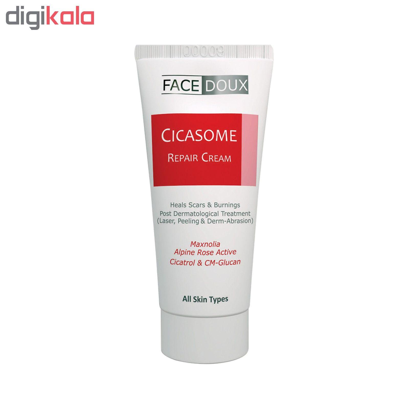 کرم ترمیم کننده فیس دوکس سری Cicasome مدل Repair Cream حجم ۳۰ میلی لیتر main 1 1