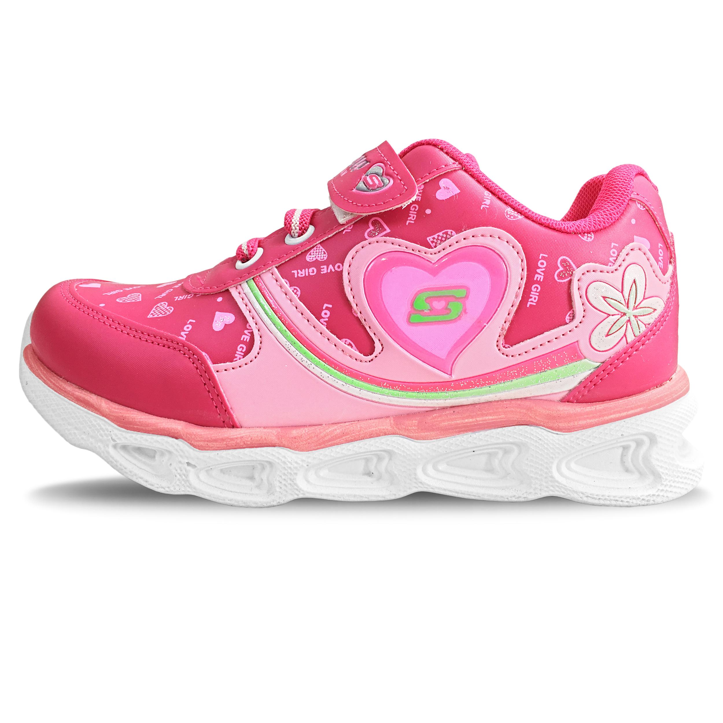 کفش مخصوص پیاده روی بچگانه مدل رنگین کمان کد B5045