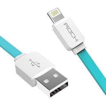 کابل تبدیل USB به لایتنینگ راک مدل FL02 طول 1 متر