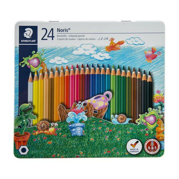 مداد رنگی 24 رنگ استدلر