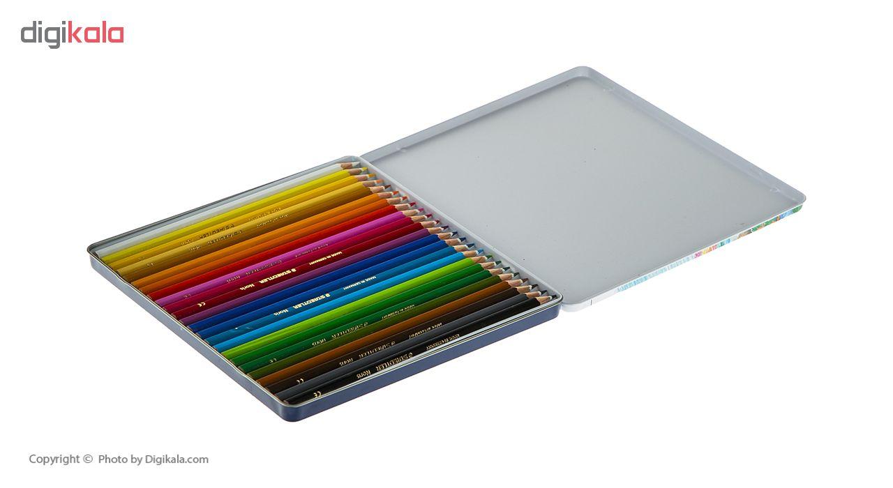 قیمت خرید مداد رنگی 24 رنگ استدلر اورجینال