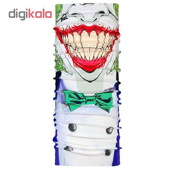 دستمال سر و گردن پک مدل Facemask Joker