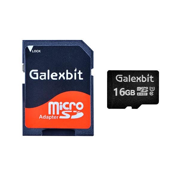 کارت حافظه microSDHC گلکسبیت مدل 333X کلاس 10 استاندارد UHS-I سرعت 50MBps ظرفیت 16 گیگابایت به همراه آداپتور SD
