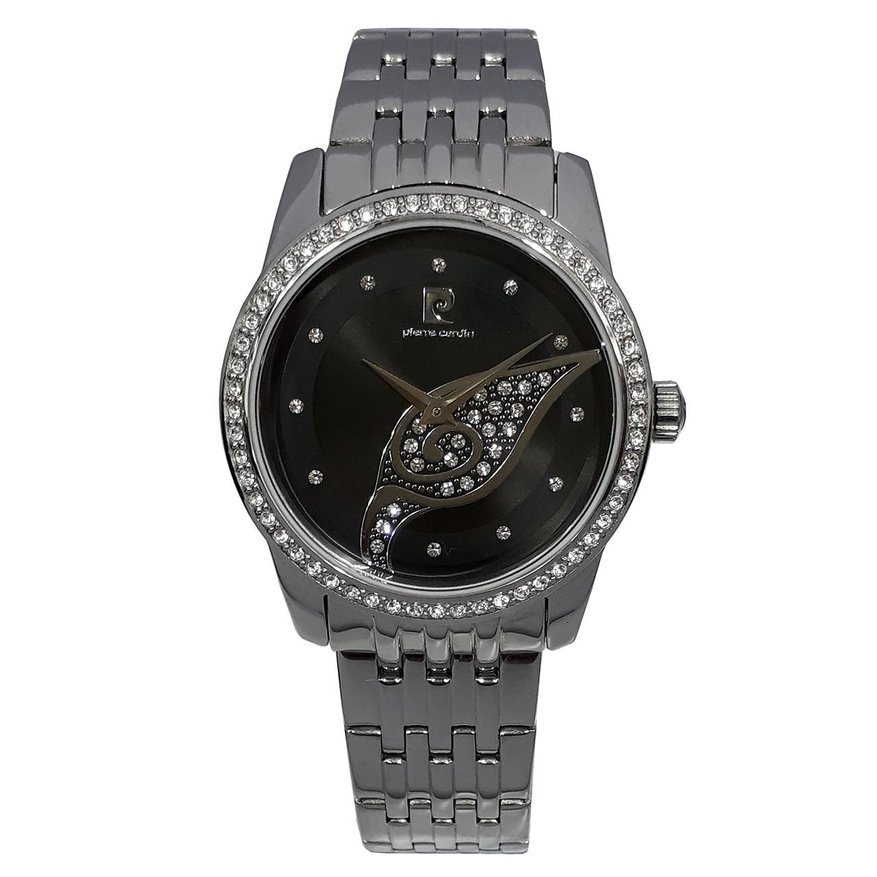 ساعت مچی عقربه ای زنانه پیر کاردین مدل PC106172F19