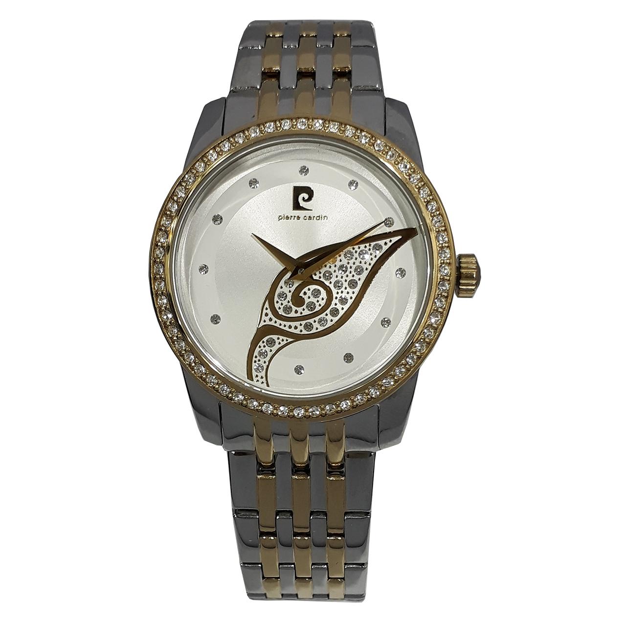 ساعت مچی عقربه ای زنانه پیر کاردین مدل PC106172F20