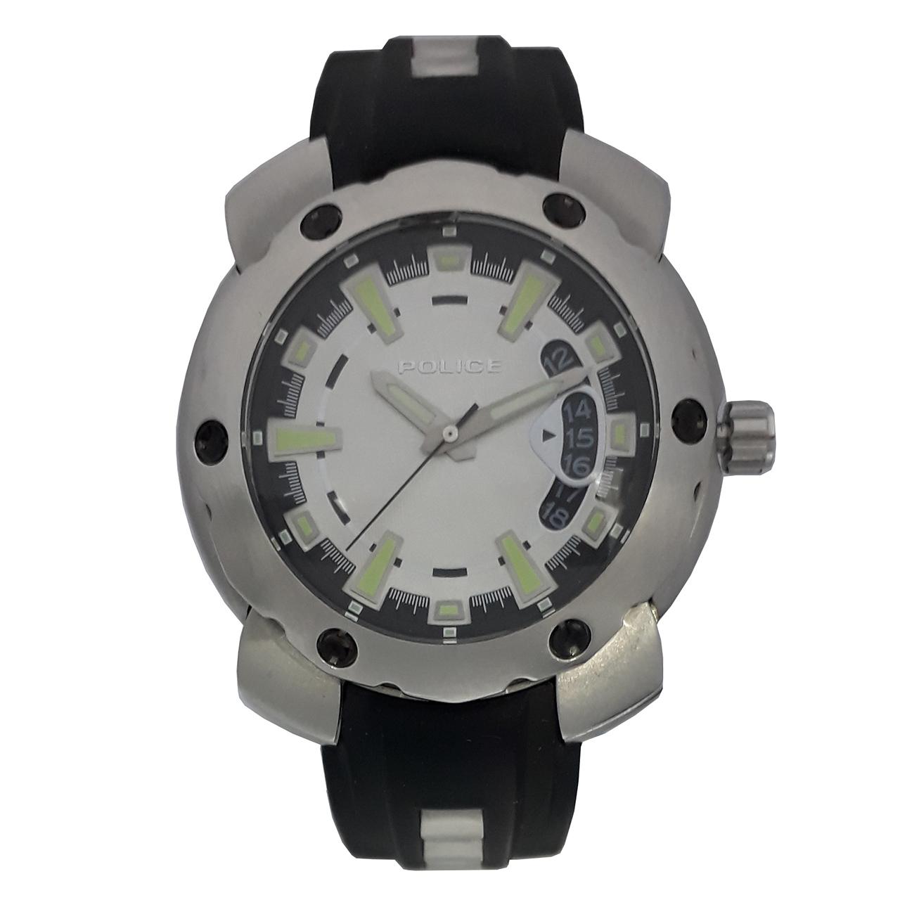 ساعت مچی عقربه ای مردانه پلیس مدل PL11624JS-05 7