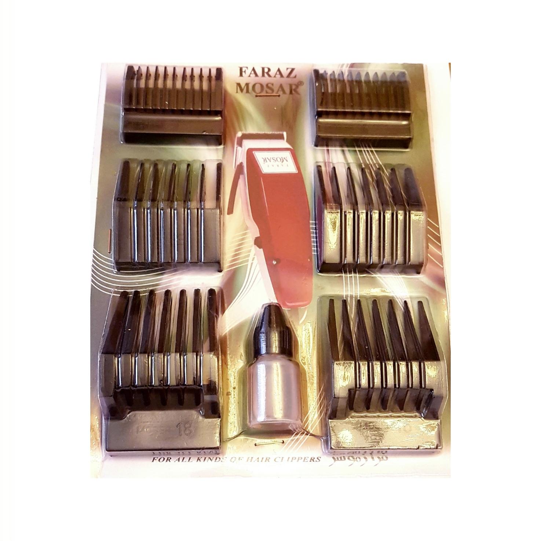 شانه ماشین اصلاح مدل FARAZ بسته 6 عددی