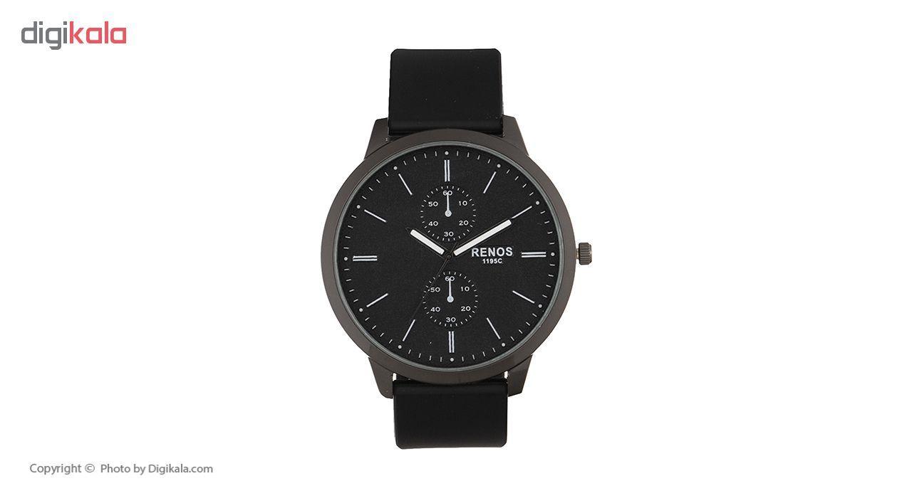 ساعت مچی عقربه ای مردانه رنوس مدل 1195C -  - 3
