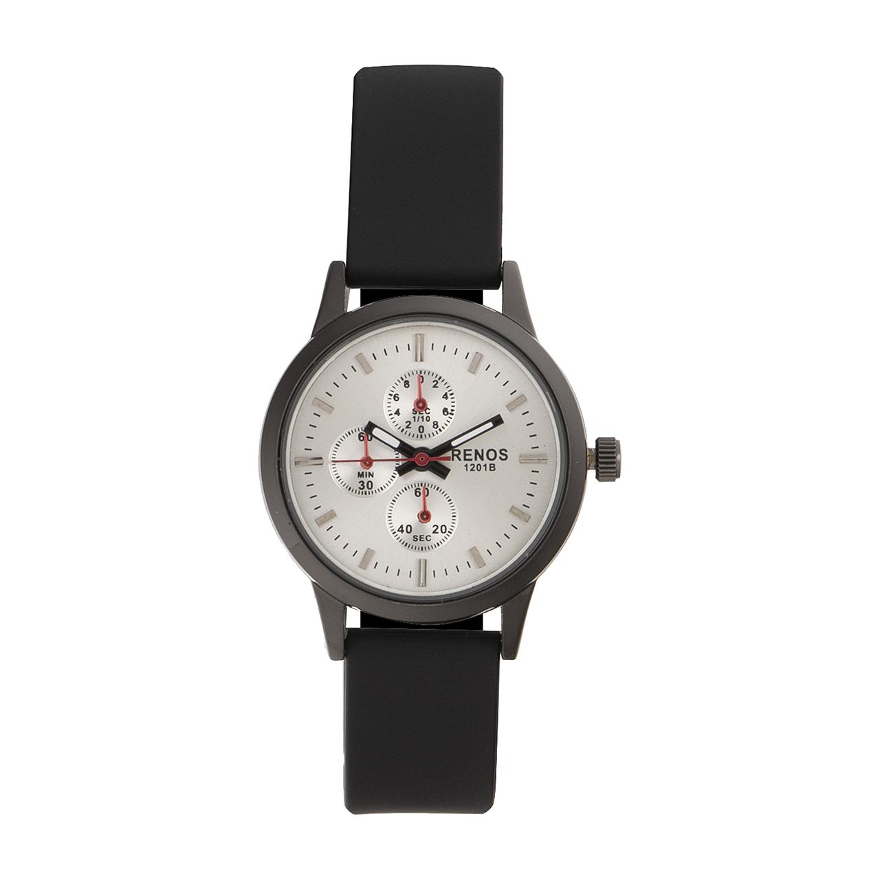 خرید ساعت مچی عقربه ای زنانه رنوس مدل 1201