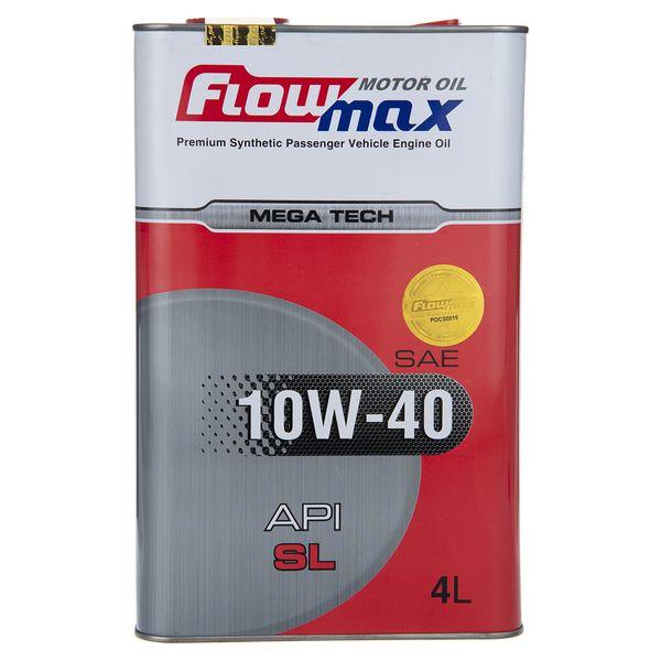 روغن موتور خودرو فلو مکس مدل 10W40-SL حجم 4 لیتر