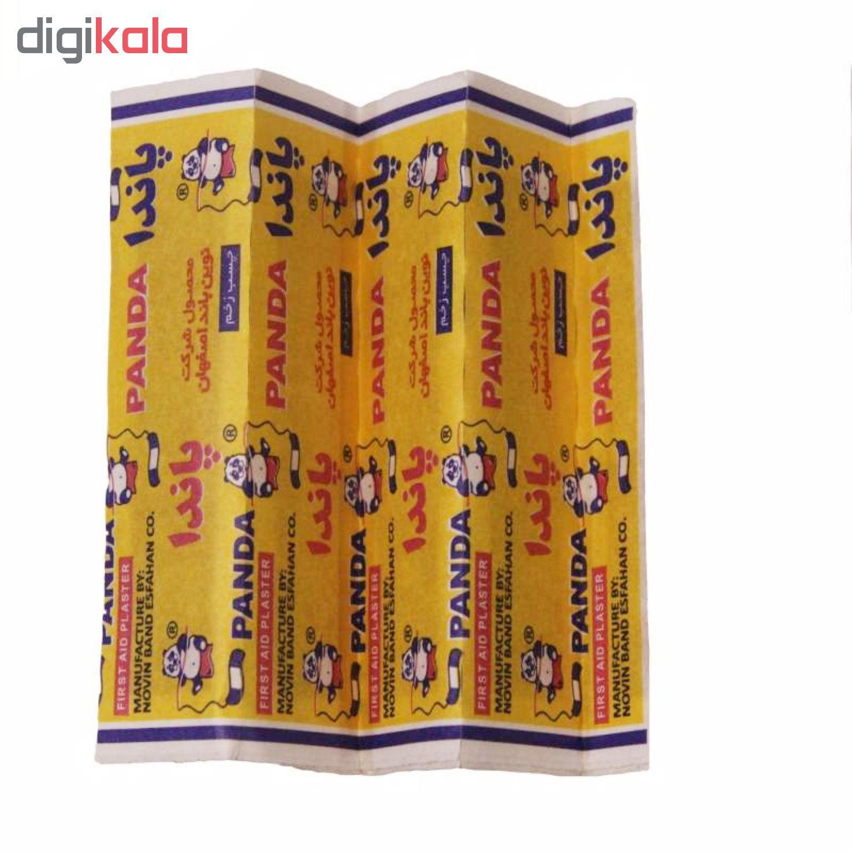 چسب زخم پاندا مدل Fabric بسته ۱۰ عددی main 1 2